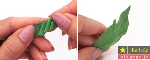 آموزش گلسازی با الگو