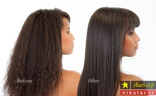 هزینه کراتینه کردن مو