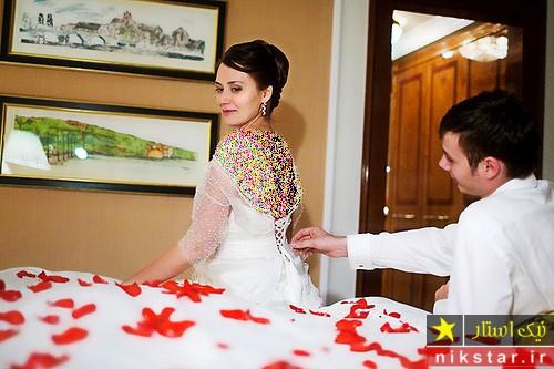 عکس های عروس و داماد در حجله