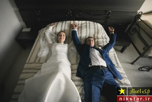 زن و مرددر شب عروسی