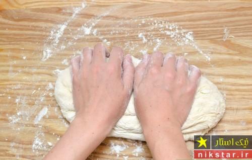 طرز پخت نان صبحانه فرانسوی