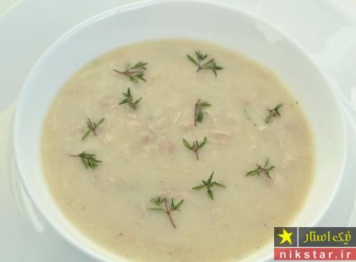 طرز تهیه سوپ کرم مرغ