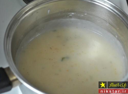 روش تهیه سوپ مرغ کرمی