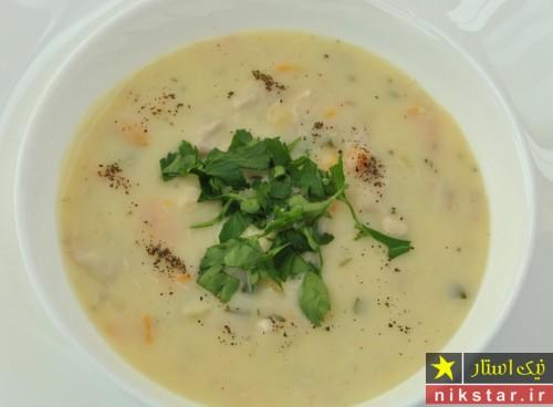 طرز تهیه سوپ کرمی خوشمزه