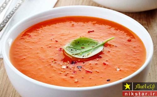 طرز درست کردن آش گوجه فرنگی