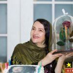 عکس های تولد گلاب آدینه در یک مراسم خاص و رسمی