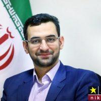 آذری جهرمی وزیر ارتباطات خادم حرم رضوی شد
