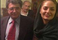 عکس قدیمی مهناز افشار در کنار استاد محمدرضا شجریان