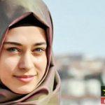 غمزه اوزچلیک بازیگر زن ترکیه با حجاب شد + تصاویر