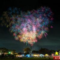 جشنواره بزرگ آتش بازی در کشور ژاپن ۲۰۱۸ + تصاویر