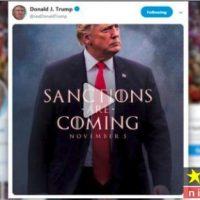 توییت ترامپ علیه ایران و عکس العمل شدید عوامل بازی تاج و تخت