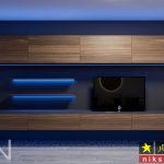 ایده های جذاب برای چیدمان تلویزیون های دیواری در خانه