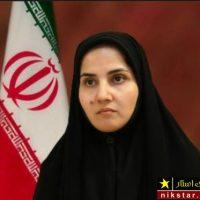 عکسی از پوشش لعیا جنیدی معاون حقوقی رییس جمهور