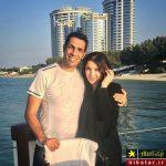 عکس عاشقانه از سالگرد ازدواج سپهر حیدری فوتبالیست