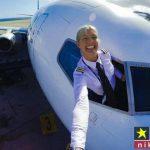 زیباترین و خوش استایل ترین خلبان زن جهان در سوئد + تصاویر