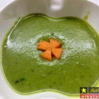 طرز تهیه سوپ اسفناج خوشمزه و مقوی مخصوص نوزادان و سالمندان