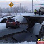 زلزله وحشتناک در آلاسکا بزرگترین شهر ایالت آمریکا