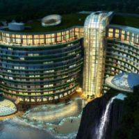 احداث هتل لوکس و مجلل در اعماق زمین شهر شانگهای