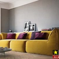 انواع مدل مبل راحتی ایتالیایی برای اتاق پذیرایی و نشیمن