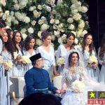 ازدواج ملکه روسی با پادشاه پیر مالزی + تصاویر