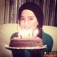 عکس جشن تولد سمانه پاکدل در کنار همسرش هادی کاظمی
