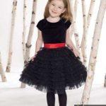 مدل لباس مجلسی دخترانه سیاه شیک برای محرم