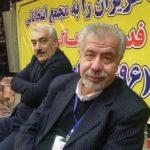 عکس بهرام شفیع قبل از مرگ روی تخت بیمارستان