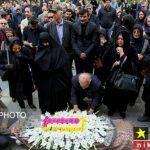 خاکسپاری مرحوم صادق عبداللهی با حضور افراد مشهور + تصاویر