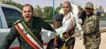 عکس جنازه رهبر و طراح حمله به اهواز در رژه اول مهر (تصاویر + 18)