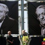 نخستین عکس از سنگ قبر مرحوم عزتالله انتظامی