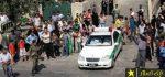 زن لخت و نیمه برهنه در خیابان های یاسوج دستگیر شد