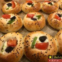 طرز تهیه پیتزا لقمه ای ترکیه ای خوشمزه به نام پوغاچا گام به گام