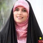 عکس مژده لواسانی در یکی از کشورهای عربی مدل چادر شد