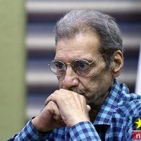 حسین محباهری بازیگر پیشکسوت در بیمارستان