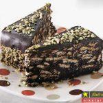 طرز تهیه کیک موزاییک شکلاتی خیلی خوشمزه مرحله به مرحله با دستور عالی