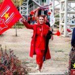 عکس های دختران هوادار پرسپولیس در استادیوم آزادی