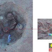 جنازه زن باردار بعد از ۳۷۰۰ سال در مصر کشف شد