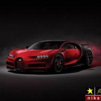 عکس بوگاتی شیرون یک خودروی سوپر اسپورت در دنیا