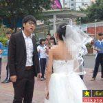 خودکشی داماد با دیدن چهره زشت عروس در روز عروسی + عکس عروس زشت