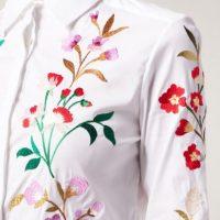 زیباترین طرح های گلدوزی روی مانتو با دست جدید ۲۰۱۹ ۹۸
