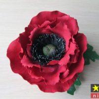 آموزش درست کردن ۵ مدل گل با فوم مرحله به مرحله – گلسازی با فوم