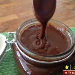 طرز تهیه شکلات مایع یا سس شکلاتی با پودر کاکائو مرحله به مرحله