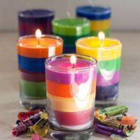آموزش ساخت ۳ مدل شمع با مداد شمعی + ۱۵ مدل شمع جهت ایده گرفتن