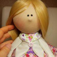 آموزش تصویری ساخت ۲ مدل عروسک روسی تیلدا با الگو مرحله به مرحله