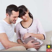 نزديكي از پشت در دوران بارداري و خطرات آن + پوزیشن های مناسب بارداری