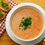 طرز تهیه سوپ گوجه فرنگی خانگی خوشمزه و مقوی مرحله به مرحله + نکات پخت