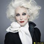 راز زیبایی پیرزن 87 ساله که مدلینگ است فاش شد + تصاویر
