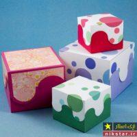 آموزش ساخت ۱۰ مدل جعبه کادویی با الگو در منزل همراه با تزیین زیبا