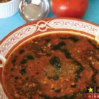 طرز تهیه آش گوجه فرنگی شمالی خوشمزه مرحله به مرحله + نکات مهم پخت