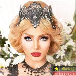 ۱۲۰ عکس از زیباترین مدل آرایش عروس ایرانی جدید ۲۰۱۹ ۹۸